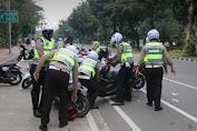 Puluhan Motor Milik Pendemo Diangkut Polisi, Ini Perkaranya