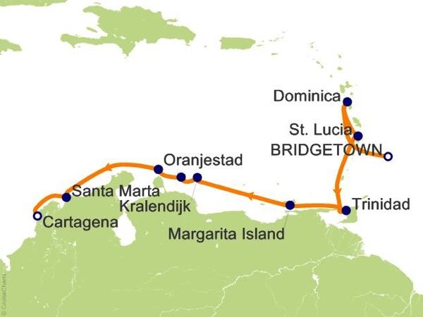 Carribean Route