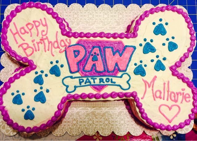 Purple Pink Paw Patrol Cake Momma Says Allons Y