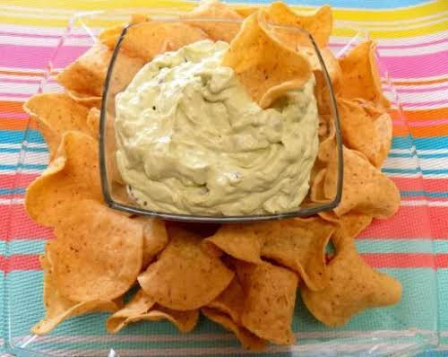 "Awesome Avocado Dip ""Tried it!! The BOMB at my party!! Keep them..."