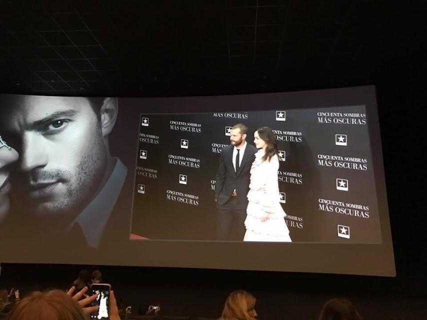 premiere en Madrid de 50 sombras más oscuras Jamie Dornan y Dakota Johnson