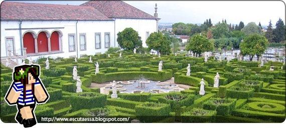 Jardim labirinto