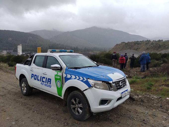 Bariloche: Hallaron un cuerpo sin vida en una zona de canteras en el barrio Omega