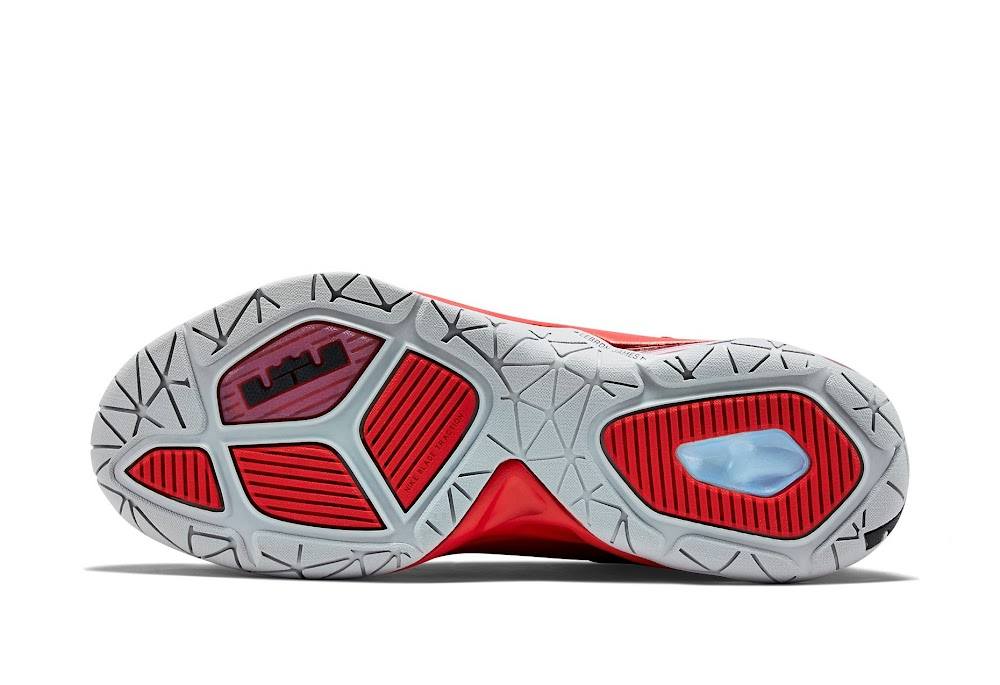 9c61f5c6d9f ... Nike Ambassador 7 Red and Metallic Silver New Look ...