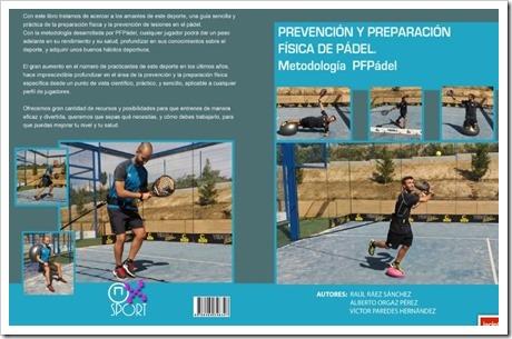 """El libro """"Prevención y Preparación Física de Pádel"""" se presenta oficialmente el 26 Noviembre en Madrid."""