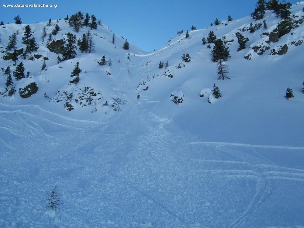 Avalanche Briançonnais, secteur Montgenèvre, Le Chenaillet - Photo 1