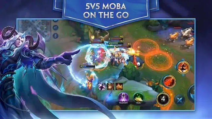 Popular PC MOBA Games Heroes Envolved