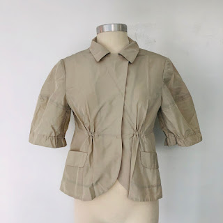 Miu Miu Short Sleeve Jacket