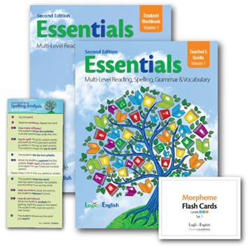 Logic of English second edition Essentials
