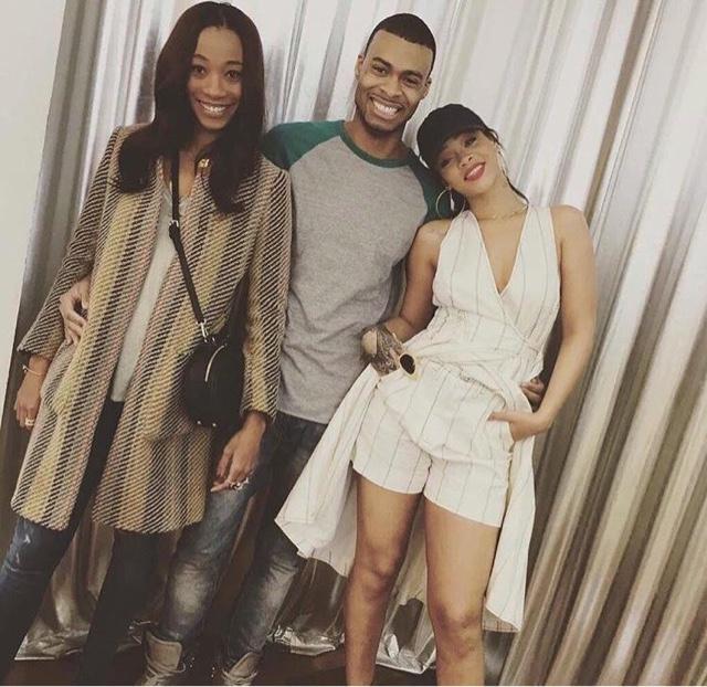 Rihanna in Resort 2016 Balenciaga