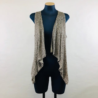 *SALE* Alice & Olivia Sequin Vest