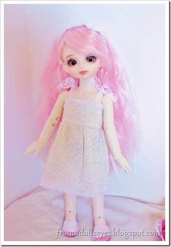 The new ball jointed doll is so cute!