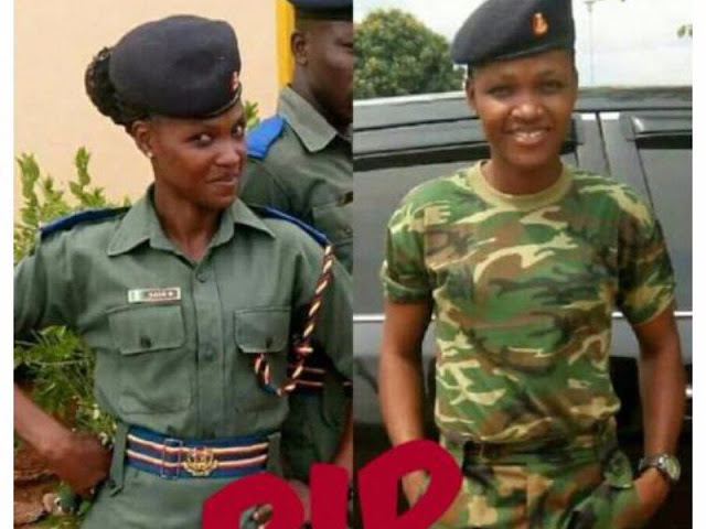 Nigerian female soldier killed in fatal accident [PHOTO]