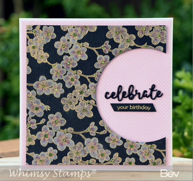 Bev-Rochester-Whimsy-Cherry-Blossoms-Background-&-Words-Die-Set-Smiles-Happy-Celebrate