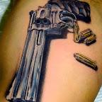 gun tattoo - Stuff Tattoo