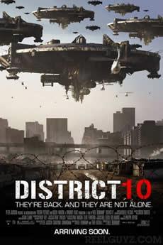 Capa Distrito 9 Torrent
