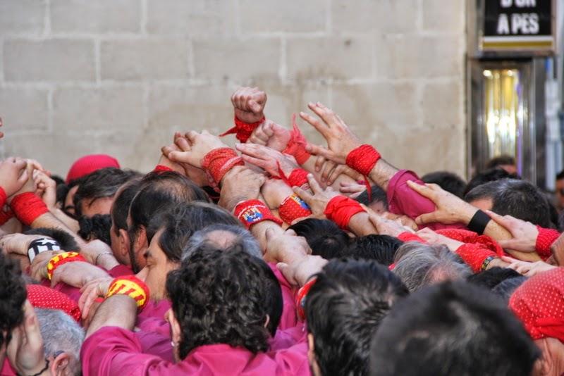 19è Aniversari Castellers de Lleida. Paeria . 5-04-14 - IMG_9431.JPG