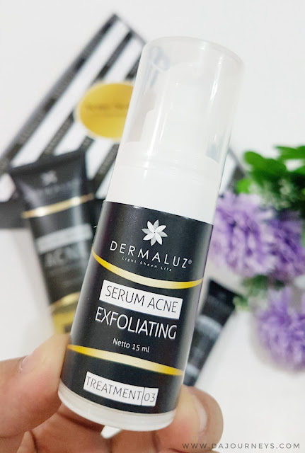 Review Dermaluz Acne Serum Exfoliating
