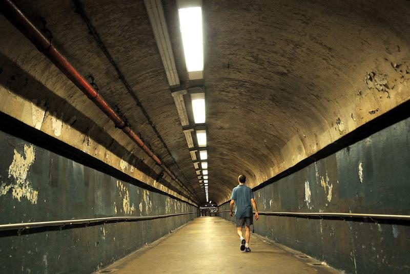 Tunnel at Washington Heights. NYC