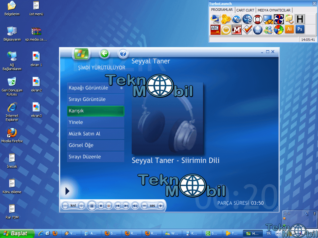 Windows Xp Media Center 2005 Türkçe Full (Msdn)