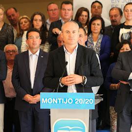 Presentación candadidato del PP en Montijo