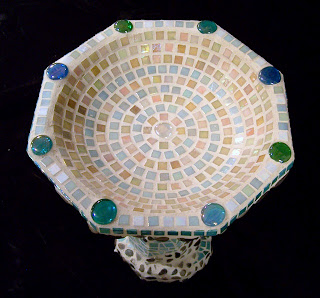 Mosaic Birdbaths