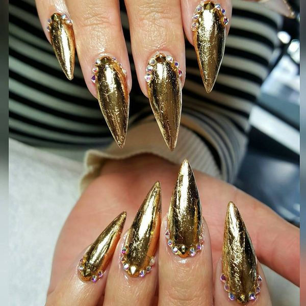 Home Design 3d Gold Ideas: 66 Ideas About Pointy Nails Designs To Try