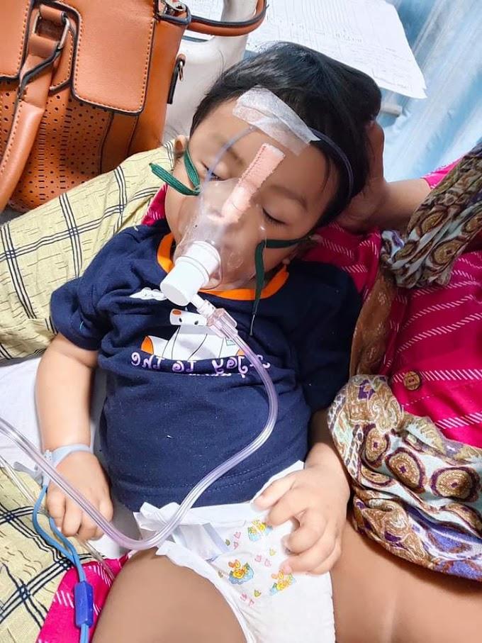 आयांश का तबीयत बिगाड़ा अस्पताल में भर्ती, स्पाइनल ट्रॉफी नामक दुर्लभ बीमारी से जूझ रहा है