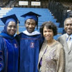 Graduation May 2011: Dr. Barro and CAS Joint Degree graduate, Nathaniel Moore and family.