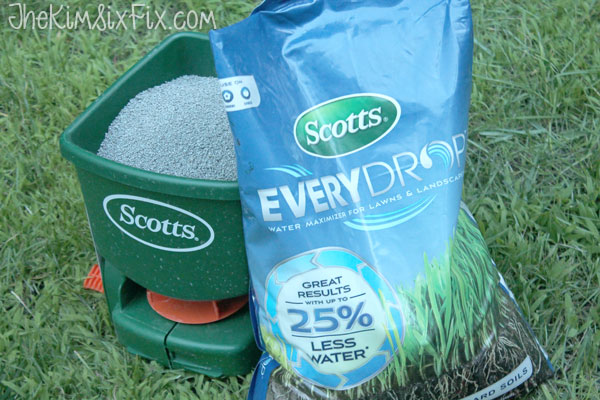 Scotts ever drop water fertilizer