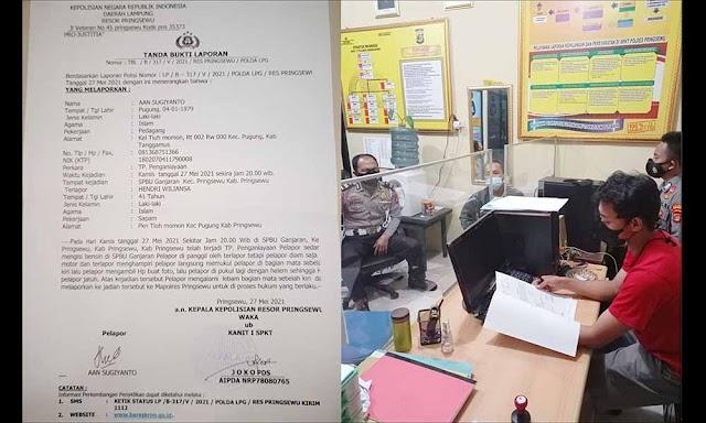 Anggotanya Dianiaya Satpam SPBU, Ketum PPWI Desak Polisi Usut Tuntas