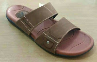 sandal kulit asli branded