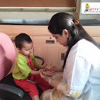 Medical and Dental Check-Up by Playgroup Section at Witty World, Bangur Nagar (2018-2019)