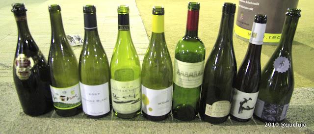 Los vinos de la cena de El Bulli