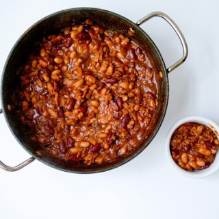Smokey Three Bean Baked Beans