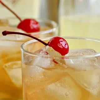 Bourbon, Apple and Ginger Sour.