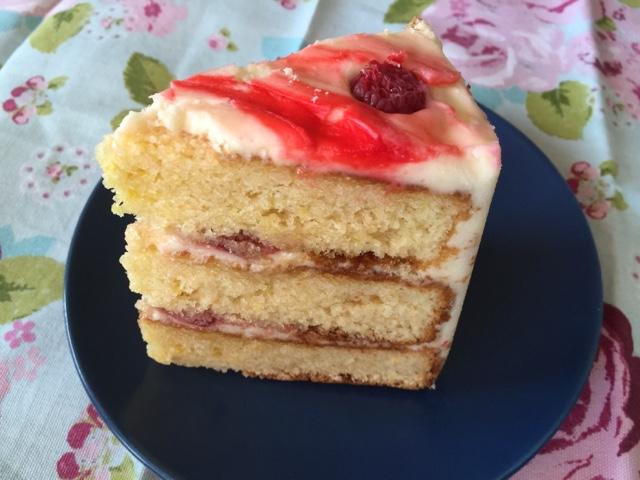 Cake from the Hummingbird Bakery