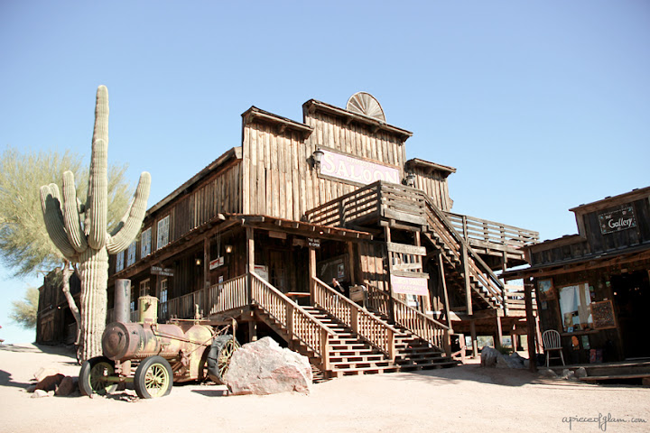 Road Trip USA : Goldfield Ghost Town