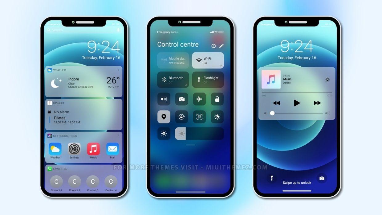 iPhone 12 MIUI Theme