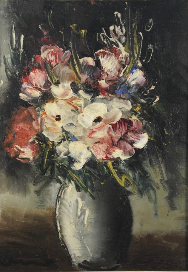 Maurice de Vlaminck - Bouquet d'anémones