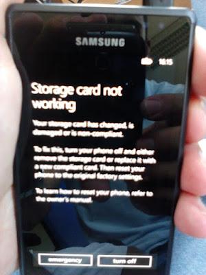 P: Samsung Omnia 7