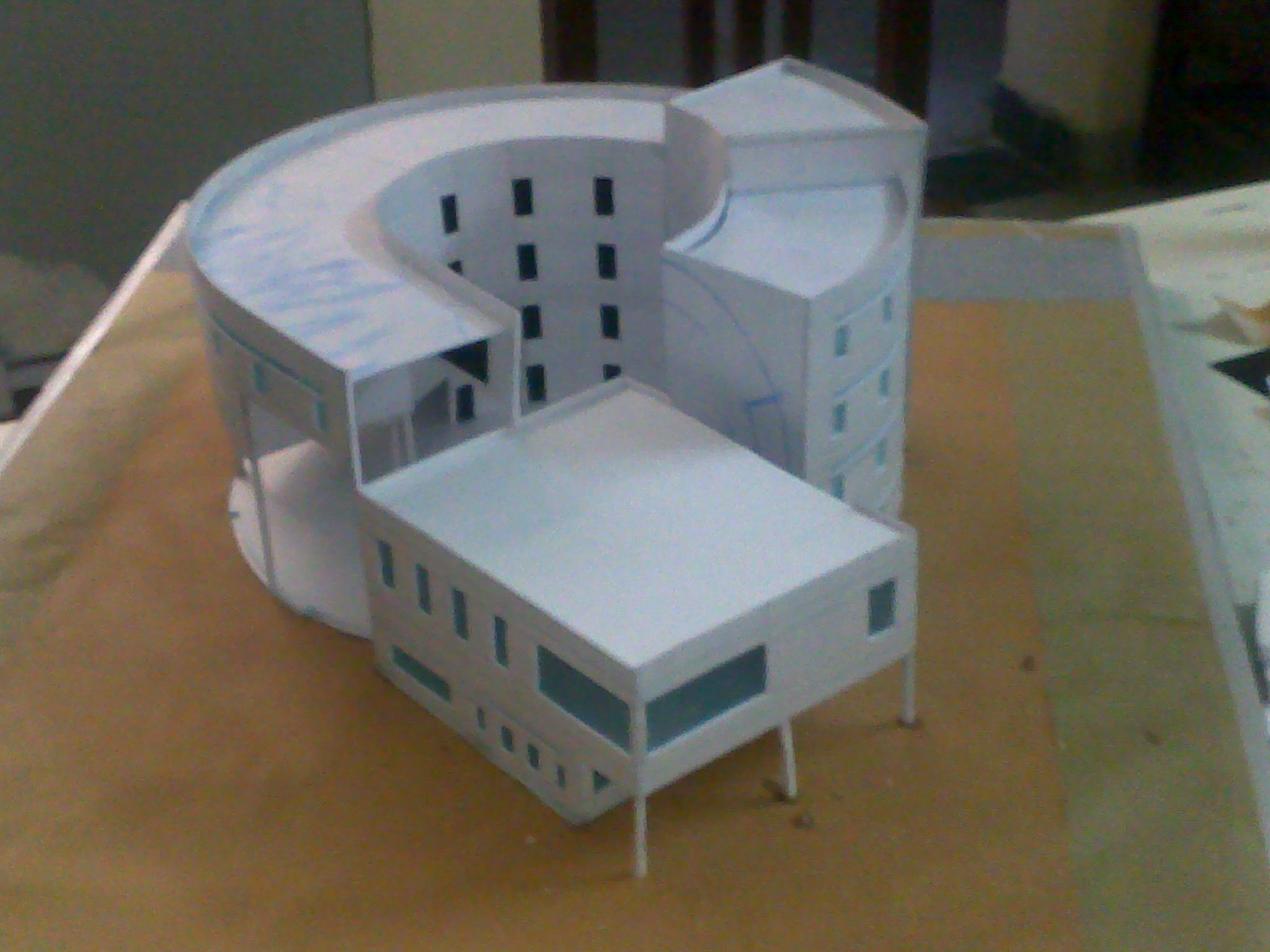 Photo: model of primary school