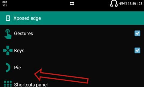 Cara mudah menggunakan pie di xposed edge - DAVYS Q RIDER