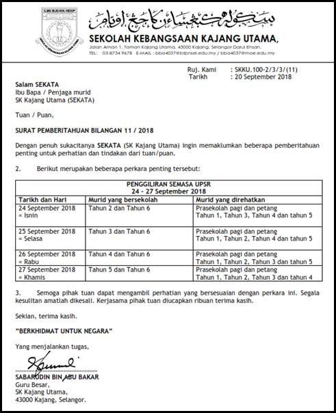 SURAT PEMBERITAHUAN BIL 11 2018_001