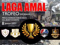 Afkab DS Gelar Laga Amal dan Trofeo Women Futsal