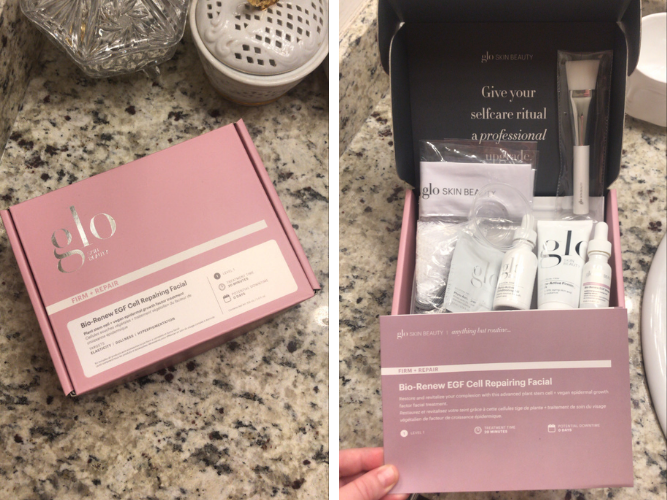 Glo Skin Beauty Treatment in a Box Unboxing and Review