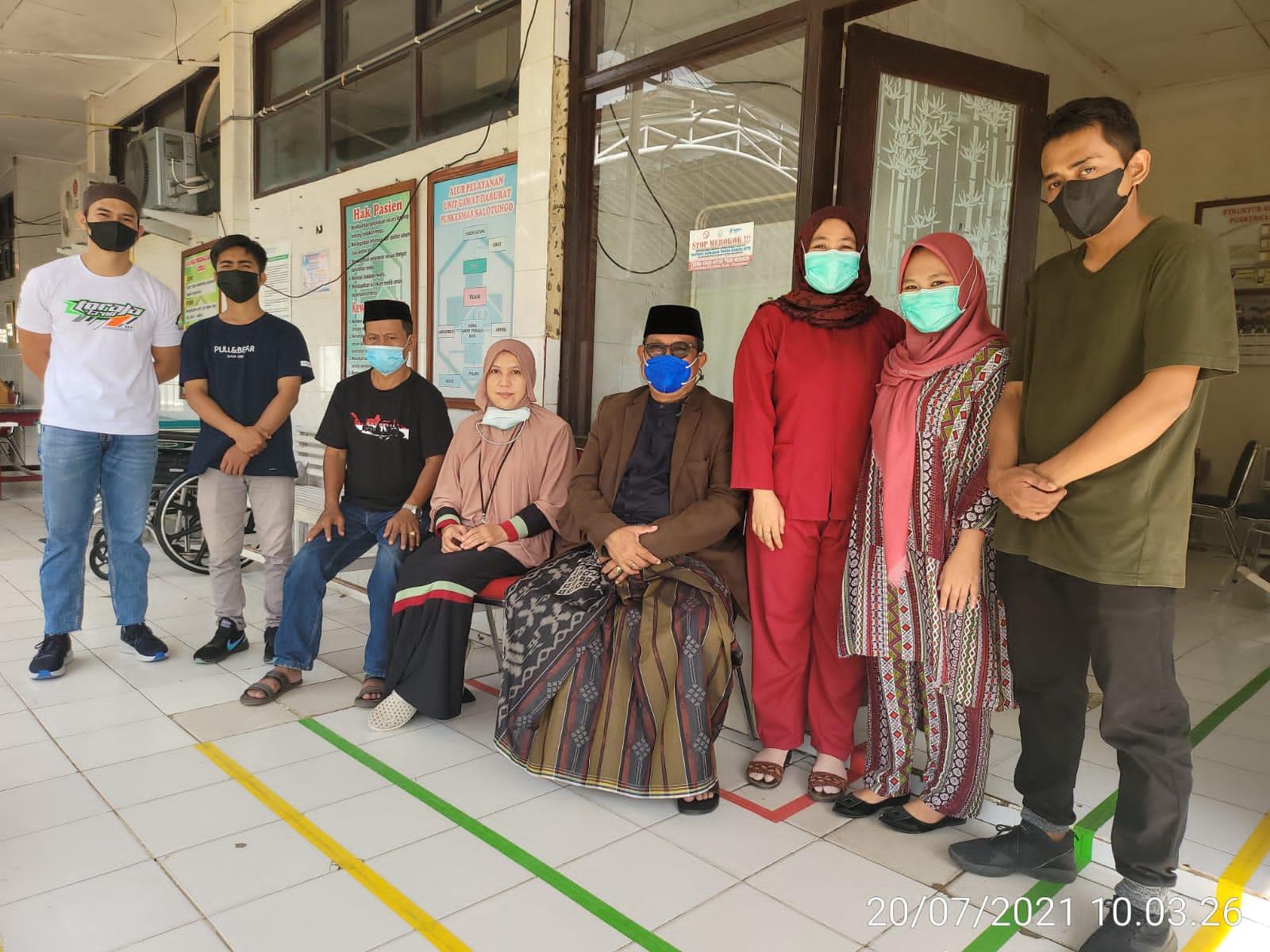 Beri Semangat, Wabup LHD Kunjungi Petugas Kesehatan di Labkesda Soppeng