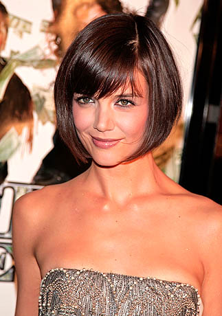 How to Get Katie Holmes' Haircut:hair,fashion girl0