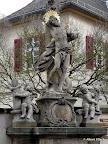 Bamberg, Figurengruppe Hl. Sebastian Restaurierung und Konservierung 2007/08