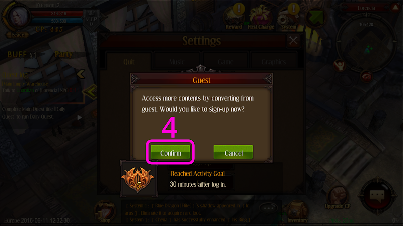 GUIDE] How to switch from GUEST to PERMANENT account - Forums